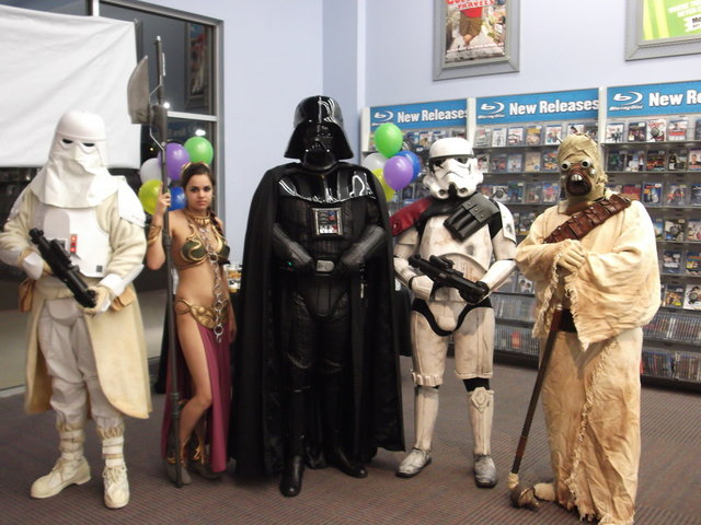 Star Wars BluRay Release Huntsville